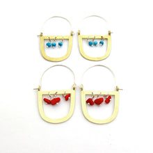 Maasai inspired earrings by South African designer Savage Jewellery