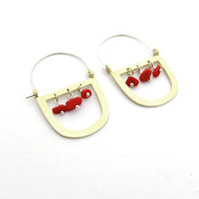 Three Stone Maasai Earring