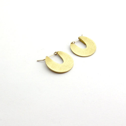 Disk earrings by Savage Jewellery - small