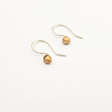 handmade tiny nuggets in bronze by Savage Jewellery