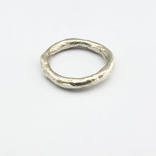 3mm organic stacking ring by Savage Jewellery