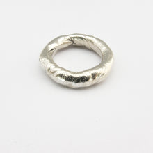 Organic silver ring by Savage Jewellery
