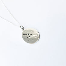 Zodiac constellations - Taurus necklace - by designer Savage Jewellery modern horoscope jewelry