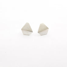 Folded geometric shape drop stud