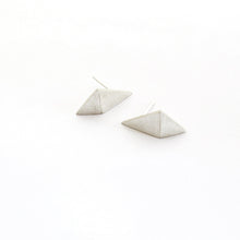 Folded Triangle Drop Stud