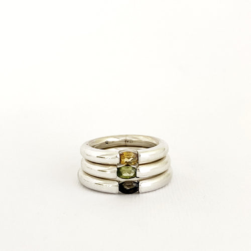 All Sorts ring - citrine