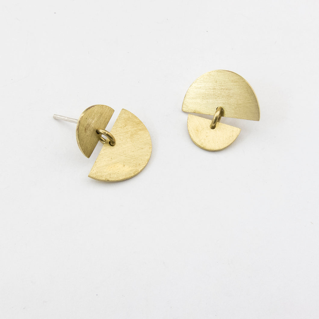 Sunrise Sunset studs - tiny