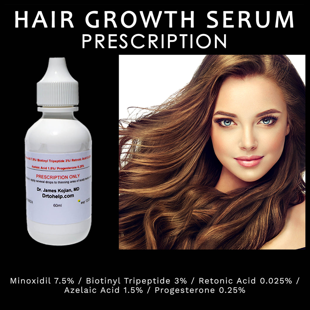 Dr. Kojian's PRESCRIPTION Hair Growth Serum