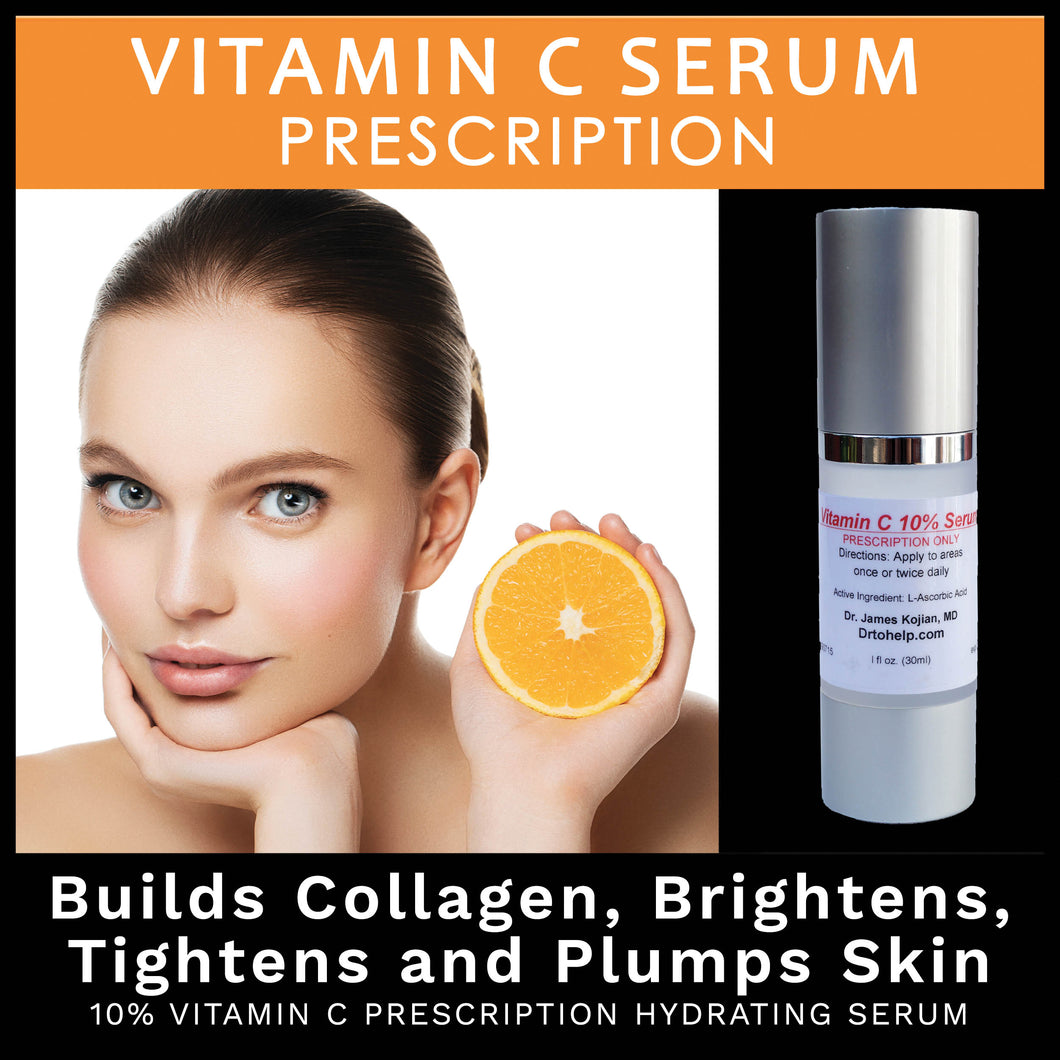 Dr. Kojian's PRESCRIPTION 10% Vitamin C Hydrating Serum