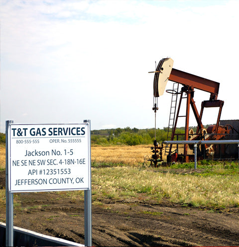 Oil and Gas Signs