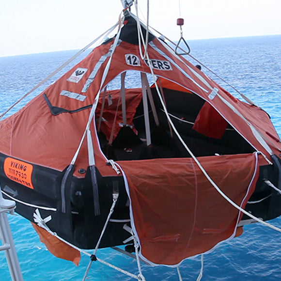 Life Raft Operation and Survival Practices