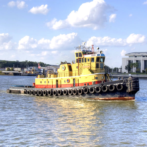 tug boat on the water