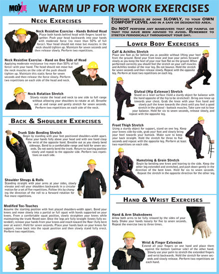 Warm Up for Work Exercises 18
