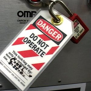 Step Back for Safety Series: Lockout/Tagout - Energy Control