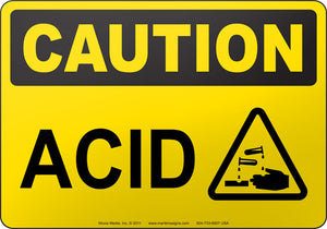 Caution: Acid