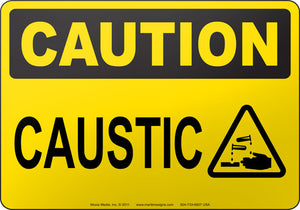 Caution: Caustic