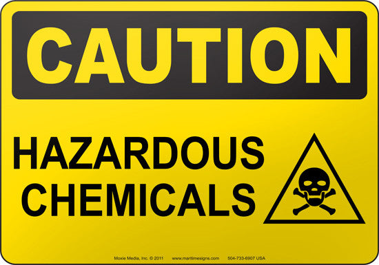 Caution: Hazardous Chemicals