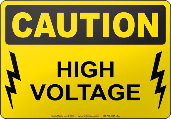 Caution: High Voltage