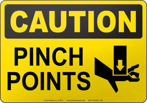 Caution: Pinch Points