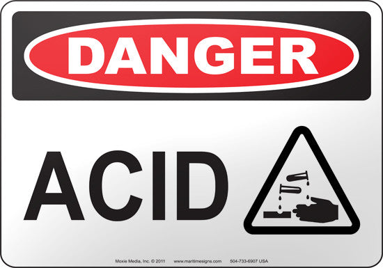 Danger: Acid