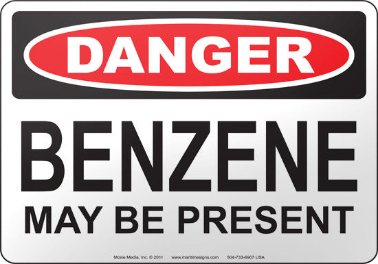 Danger: Benzene May Be Present