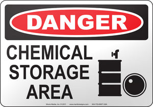 Danger: Chemical Storage Area