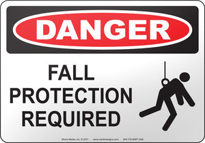 Danger: Fall Protection Required