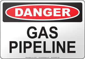 Danger: Gas Pipeline