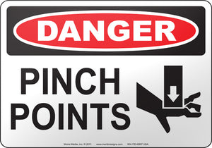 Danger: Pinch Points