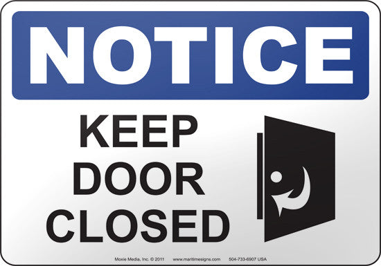 Notice Keep Door Closed  sc 1 th 188 & Notice: Keep Door Closed u2013 Moxie Training