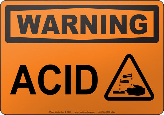 Warning: Acid