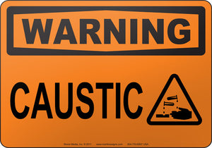 Warning: Caustic