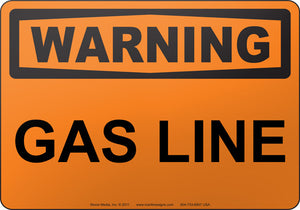 Warning: Gas Line