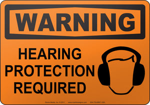 Warning: Hearing Protection Required
