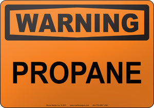 Warning: Propane