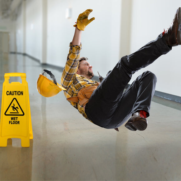 Slips, Trips and Falls in Construction Environments