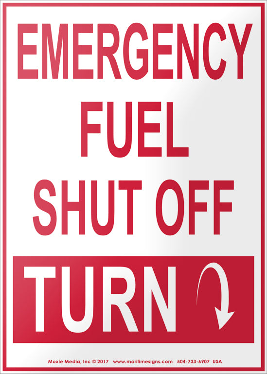 Emergency Fuel Shut Off - Turn Down
