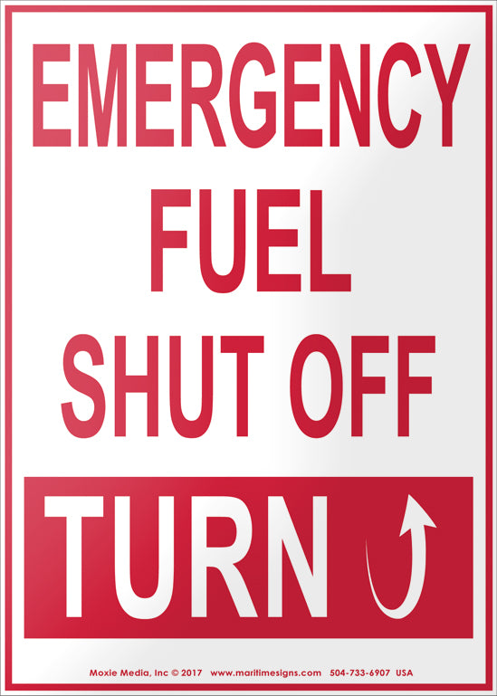 Emergency Fuel Shut Off - Turn Up