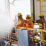 Maritime onboard fire drills for deckhand training