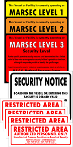 MTSA-MARSEC Level Complete Vessel/Facility Set