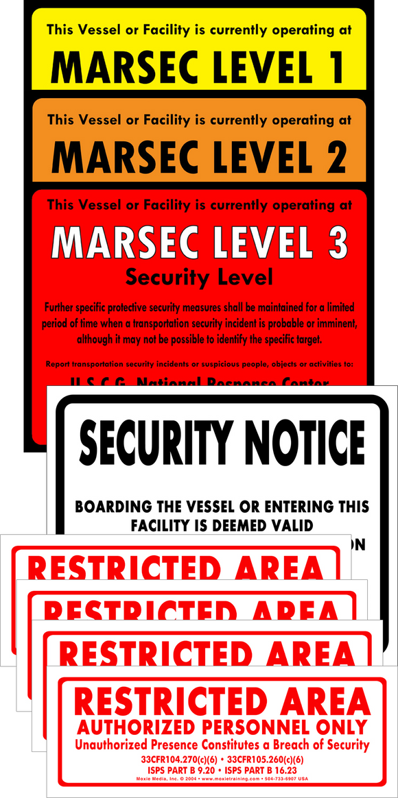 MARSEC Level Set