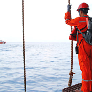 Safe Swing Rope and Personnel Basket Transfers for Offshore Oil Personnel