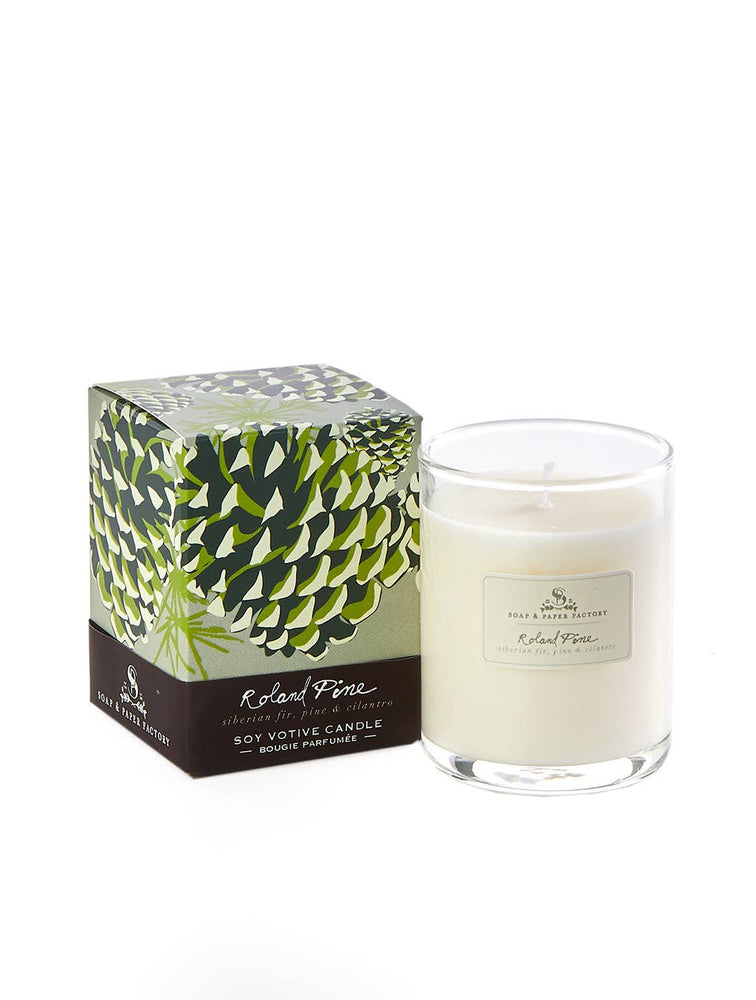 Soap & Paper Factory - Roland Pine Votive Candle