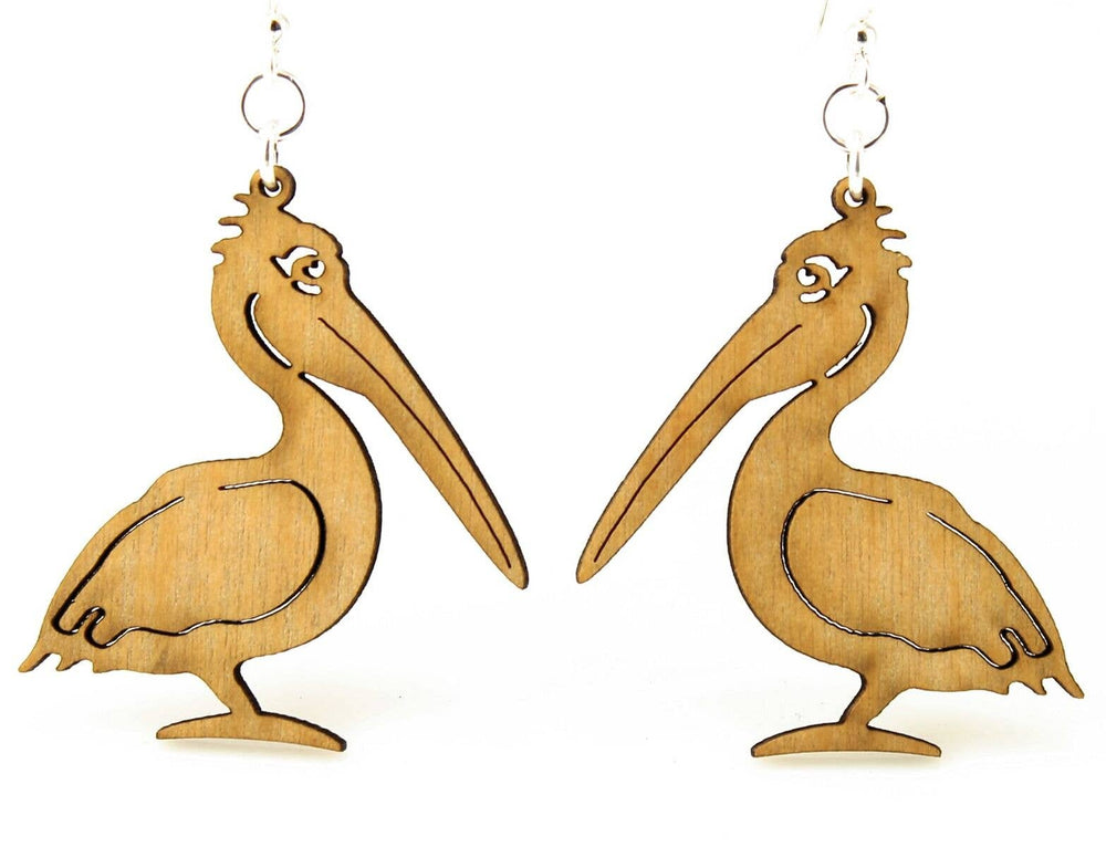 Green Tree Jewelry - Pelican Earrings