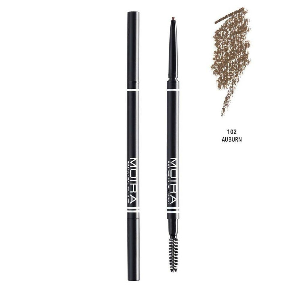 Moira Cosmetics - Fine Brow Pencil - Auburn
