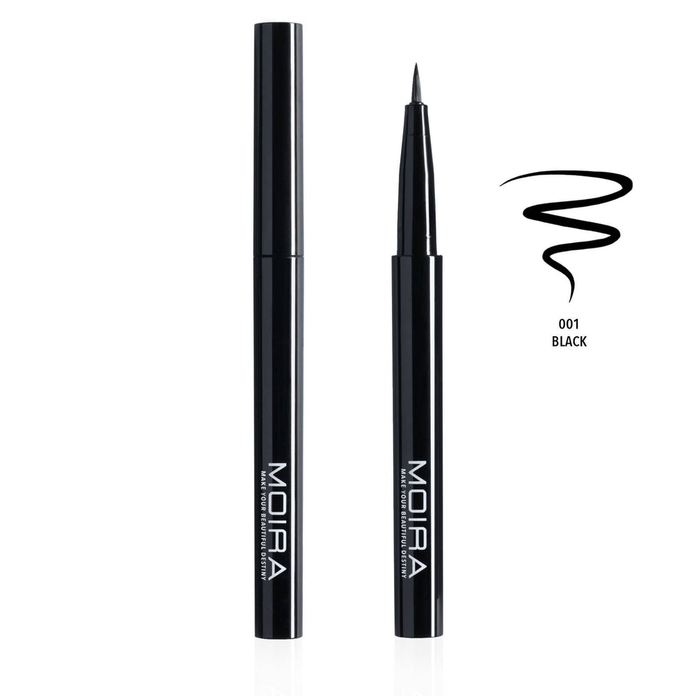 Moira Cosmetics - Iconic Brush Liner - Black