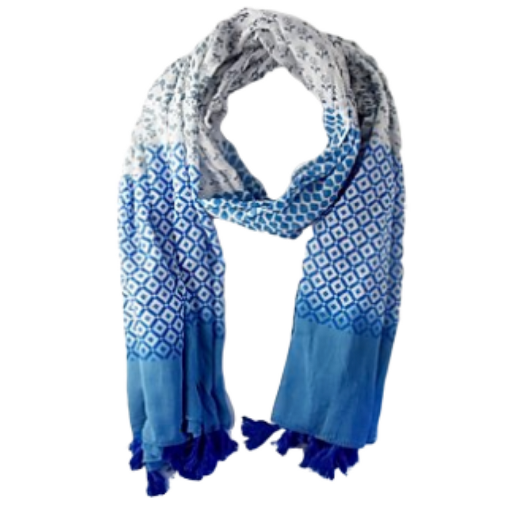 Beach Scarf Blue