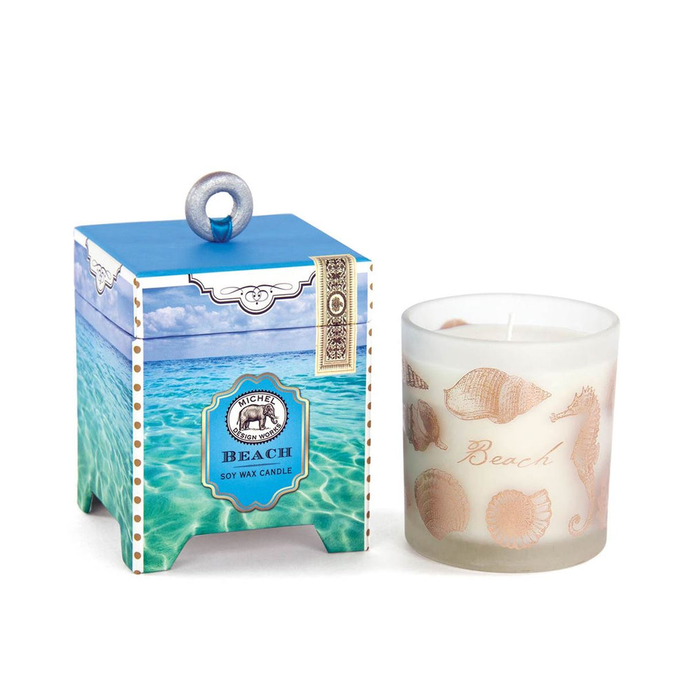 Beach Soy Wax Candle, 6.5 oz.