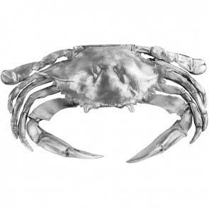 Cast Pewter Crab 5""