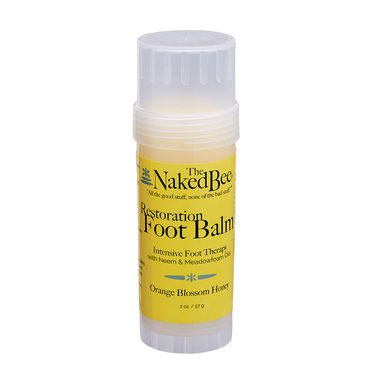 Orange Blossom Foot Balm Twis-up Tube, 2 oz.